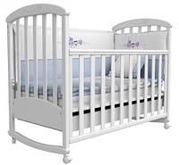 Детская кроватка Верес Соня ЛД-9 (белый)