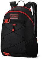 Классный мужской рюкзак для прогулок со стрепами Dakine WONDER 15L phoenix 610934903447 черный