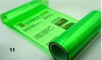 Пленка для фар: Зеленая - ширина 40 см