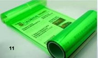 Пленка для тонировки фар Зеленая - ширина 40 см, фото 1