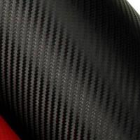 Пленка Карбон 3D черная.  40х50 см.
