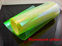 Пленка для фар: Хамелеон Флуоресцентный желтый