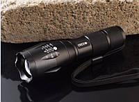 Фонарик  E17 CREE XM-L T6 + аккумулятор