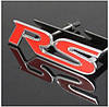 3D эмблема RS  на решётку  радиатора