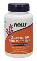 Мощный антиоксидант - Кверцетин с Бромелайном / Quercetin with Bromelain, 120 капсул