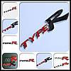 3D эмблема TypeR - красный-черный