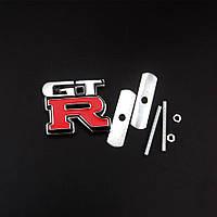 """3D эмблема """"GTR"""" на решётку радиатора, фото 1"""