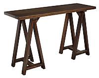 Стол консоль из массива дерева 051