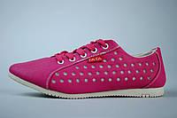 Кроссовки женские розового цвета