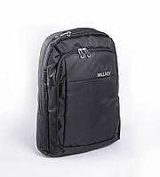 Мужской рюкзак для ноутбука WALLABY черный полиэстр