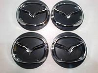 Наклейка на колпачок диска Mazda 60 мм