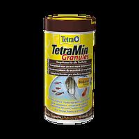 Tetra Min Granules Гранулированный корм для всех видов декоративных рыбок