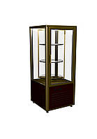 Кондитерский шкаф R120Cвр Carboma (шокол-золот)