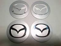 Наклейка на колпачок диска Mazda 55 мм