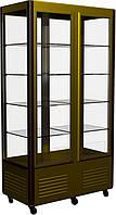 Кондитерский шкаф R800C Сarboma Люкс (остекление с 4-х сторон, выпариватель) NEW