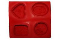 Форма силиконовая  Для мыла 3D на планшете