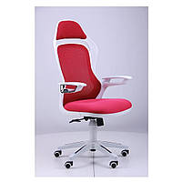 Кресло Спайдер (Spider GTX) - сетка красная,каркас белый