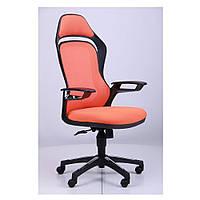 Кресло Спайдер (Spider GTX) - сетка оранж,каркас черный