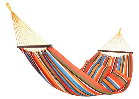 """Гамак """"Relax"""" тканевый с подушкой 200*100 см"""