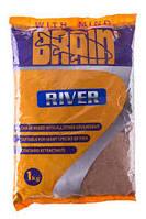 Прикормка Brain RIVER 1 kg