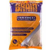 Прикормка Brain UNIVERSAL 1 kg