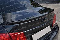 Спойлер Шевроле Круз (спойлер на крышку багажника Chevrolet Cruze)