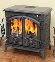 Eurokom Harold ― чугунная печь-буржуйка на ножках для отопления помещений и разогрева еды. Для удобства печка
