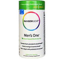 Комплексные витамины для мужчин, Rainbow Light, 90 таблеток