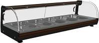 Барная витрина тепловая «Carboma» ВТ-1,5  (7 гастроёмкостей в компл)