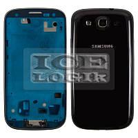 Корпус для мобильного телефона Samsung I9300 Galaxy S3, черный