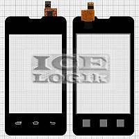 Сенсорный экран для мобильных телефонов Prestigio MultiPhone 3350 Duo; Explay A351, черный, #CS035X-