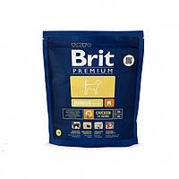 Brit Premium Junior M - сухой корм щенков и юниоров средних пород весом от 10 до 25 кг