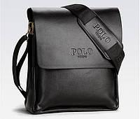 Мужская сумка POLO. Сумка через плечо. Сумка планшет. Стильная сумка. Красивая сумка. , фото 1