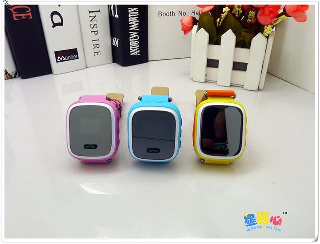 Детские часы-телефон с GPS трекером Q60