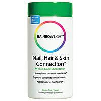 Восстанавливающие баланс витамины для кожи, ногтей и волос, Rainbow Light, 60 таблеток