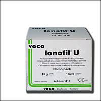 IONOFIL U (Ионофил Ю) стеклополиалкеноатный цемент 15г+10мл,