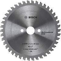 Циркулярный диск Bosch 254x30 80 Multi ECO