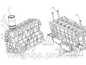 КАТАЛОГ Блок двигателя YG6108