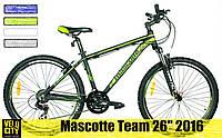 "Велосипед Mascotte Team 26""2016 v-brake"