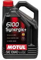 Моторное масло Motul 6100 Synergie+ 10W-40,5л
