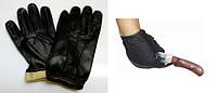 S6160-01 : Перчатки тактические - кожа/кевлар