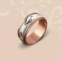 Золотое обручальное кольцо Антистресс