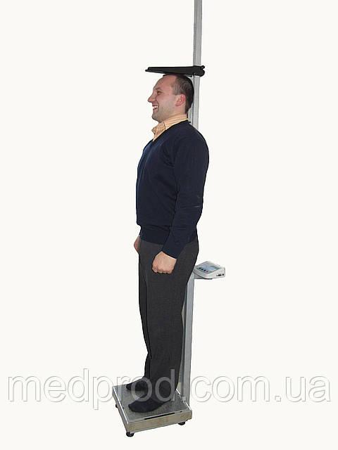 Весы с ростомером ТВ1-200 электронные до 200 кг, дискр.50 г, с поверкой