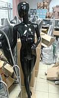 NEW! Черный глянцевый женский манекен