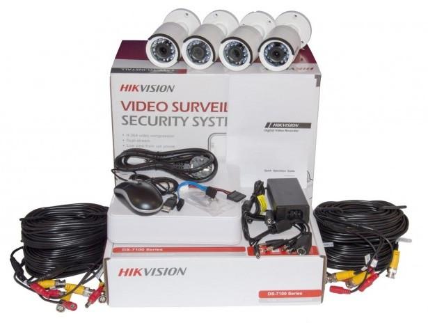Комплект TurboHD видеонаблюдения Hikvision на 4 камеры купить Житомир Киев - фото 2