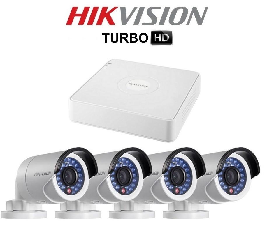 Комплект TurboHD видеонаблюдения Hikvision на 4 камеры купить Житомир Киев - фото 1