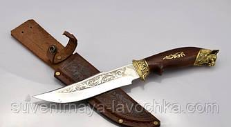 Нож охотничий Рысь, производство Украина. Качественный нож на подарок мужчине. Оригинальное фото