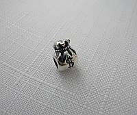 Бусина ШАРМ ДЕНЕЖНЫЙ МЕШОК серебро 925* , фото 1