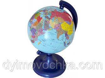 Глобус политический, 9 см