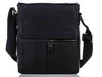 Эксклюзивная кожаная сумка черная